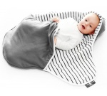 Wallaboo Beebitekk Coco  - Stripe Grey BBC.0214.4631